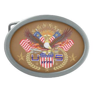 Patriotic or Veteran View Artist Comments Below Belt Buckles