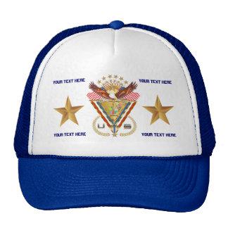Patriotic or Veteran View Artist Comments Mesh Hat