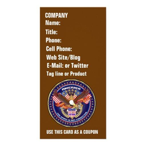 Patriotic or Veteran View Artist Comments Custom Photo Card