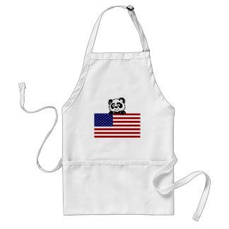 Patriotic Panda Apron