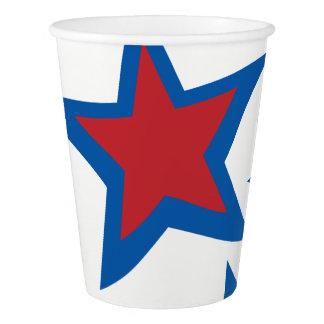 Patriotic Paper Cups