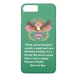 Patriotic Peace Forest Green Kentucky iPhone 7 Plus Case