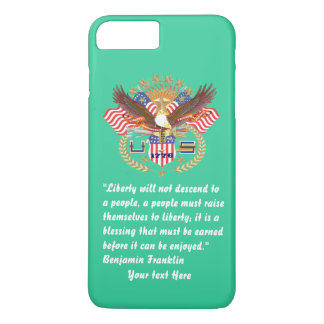 Patriotic Peace Forest Green Sea iPhone 8 Plus/7 Plus Case