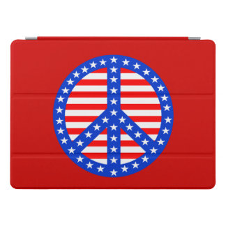 Patriotic Peace iPad Pro Cover
