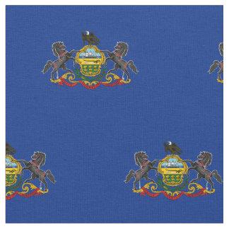 Patriotic Pennsylvania State Flag Fabric