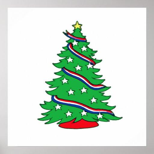 Patriotic Pine Posters