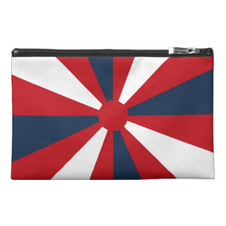 Patriotic Pinwheel Travel Accessory Bag