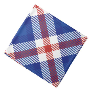 Patriotic Plaid 2 Bandana