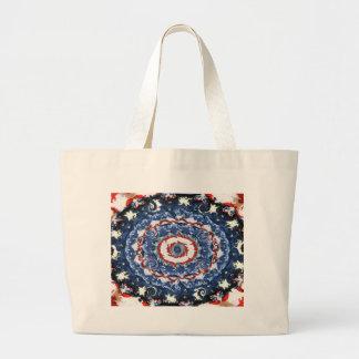 Patriotic Plasticity Jumbo Tote Bag