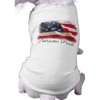 Patriotic Pooch American Flag Doggie T-shirt