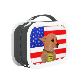 Patriotic Pooch Lunch Box
