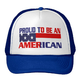 Patriotic Proud to be an American - Hat