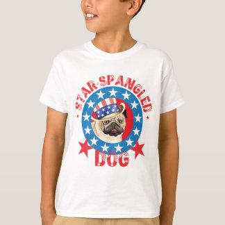 Patriotic Pug T-Shirt
