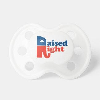 Patriotic Raised Right Dummy