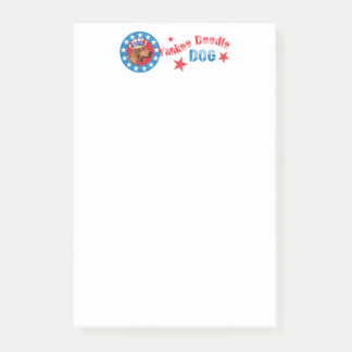 Patriotic Redbone Post-it Notes