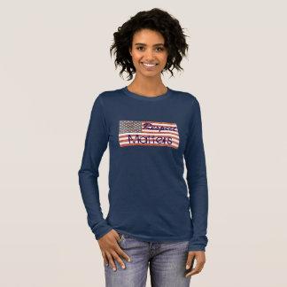 "Patriotic ""Respect Matters"" American Flag Shirt"