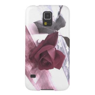 Patriotic Rose 3 Galaxy S5 Covers