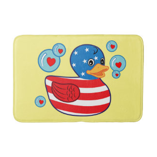 Patriotic Rubber Ducky Bath Mats