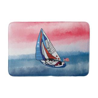 Patriotic Sails Bath Mats