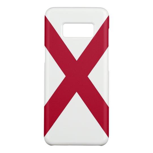Patriotic Samsung Galaxy S8 Case with Alabama Flag