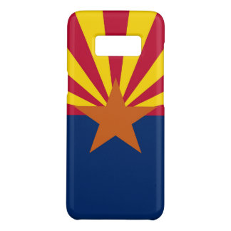 Patriotic Samsung Galaxy S8 Case with Arizona Flag