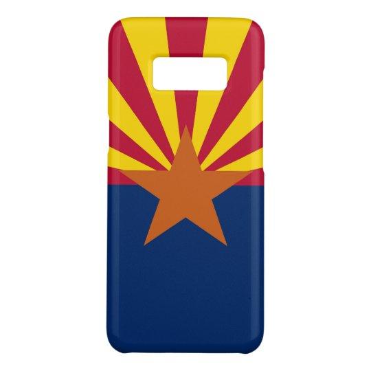 Patriotic Samsung Galaxy S8 Case with Arizona Flag