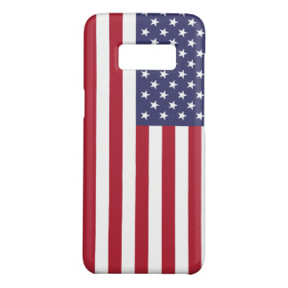 Patriotic Samsung Galaxy S8 Case with Flag of USA