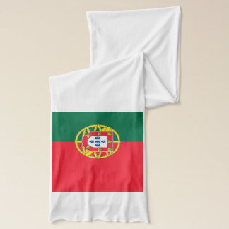 Patriotic Scarf with Flag of Portugal
