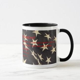 "Patriotic ""Second Amendment"" Coffee Mug"