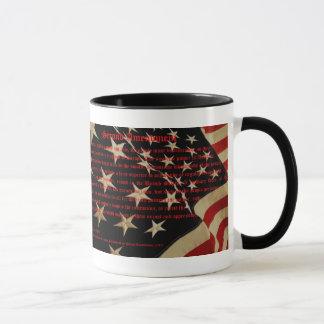 Patriotic Second Amendment Coffee Mug