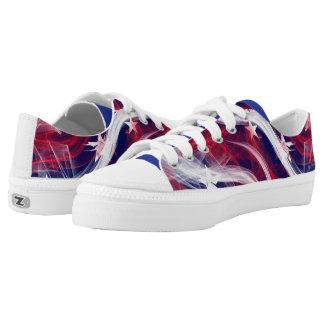 Patriotic Shoes Printed Shoes