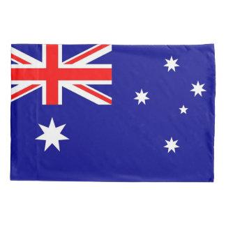 Patriotic Single Pillowcase flag of Australia
