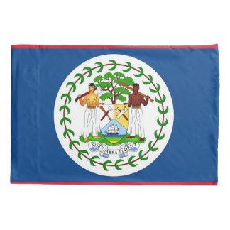 Patriotic Single Pillowcase flag of Belize
