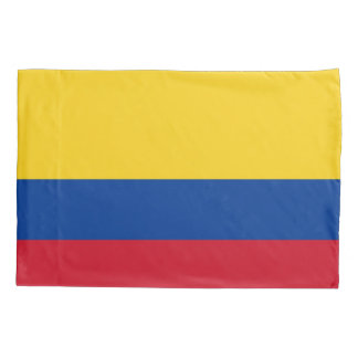 Patriotic Single Pillowcase flag of Colombia