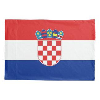 Patriotic Single Pillowcase flag of Croatia