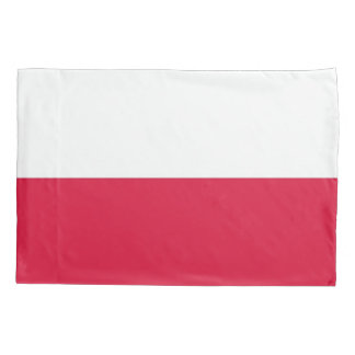 Patriotic Single Pillowcase flag of Poland