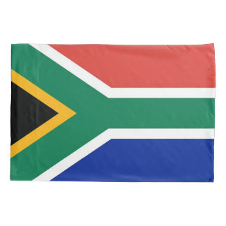 Patriotic Single Pillowcase flag of South Africa