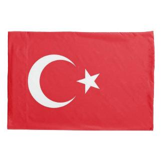Patriotic Single Pillowcase flag of Turkey
