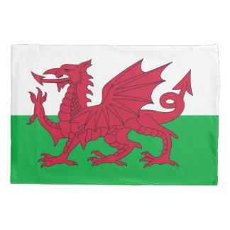 Patriotic Single Pillowcase flag of Wales