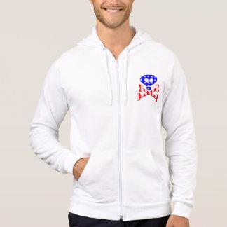 Patriotic Skeleton Hoodie
