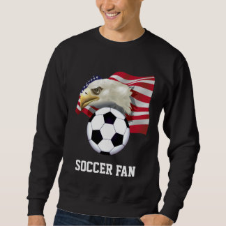 Patriotic Soccer Fan Sweatshirt