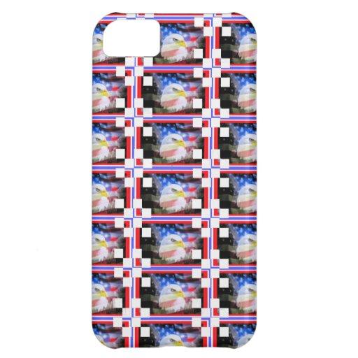 Patriotic Stamps. iPhone 5C Covers