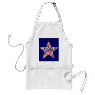 Patriotic Star Apron