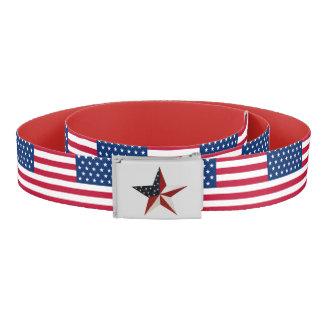 Patriotic Star Belt