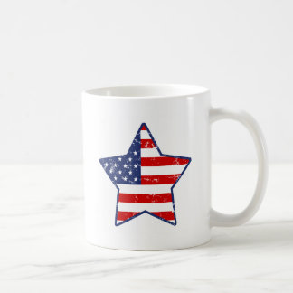 Patriotic Star Coffee Mug