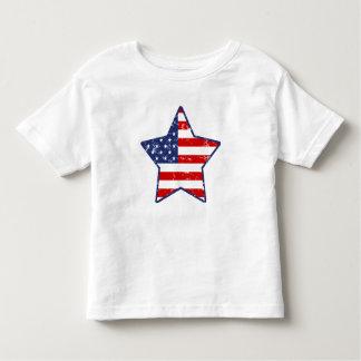 Patriotic Star Toddler T-Shirt