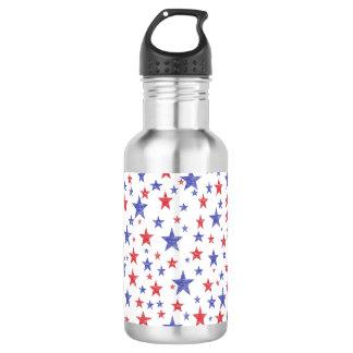 Patriotic Stars 532 Ml Water Bottle