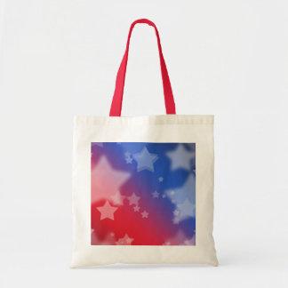 Patriotic Stars Tote Bags