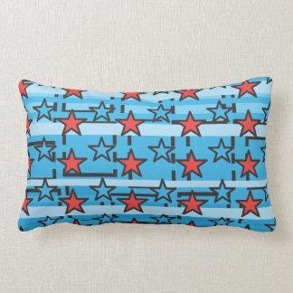 Patriotic Stars Throw Pillows