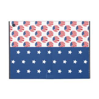 Patriotic Stars Stripes Freedom Flag 4th of July Case For iPad Mini